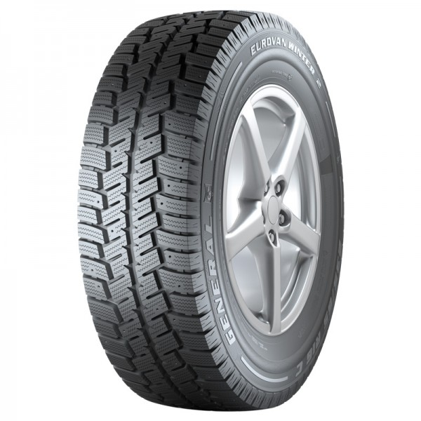 GENERAL TIRE EUROVAN WINTER 2 8PR M+S 215/70R15C 109/107R TL