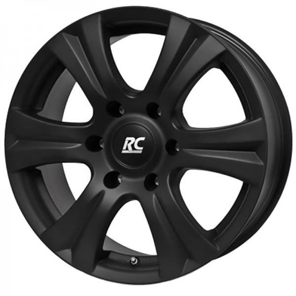 RC DESIGN RC 14 6S BLACK CLEAR MATT 6X139.7 ET30 HB106.1