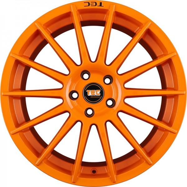 TEC AS2 RACE ORANGE 4X100 ET38 HB64