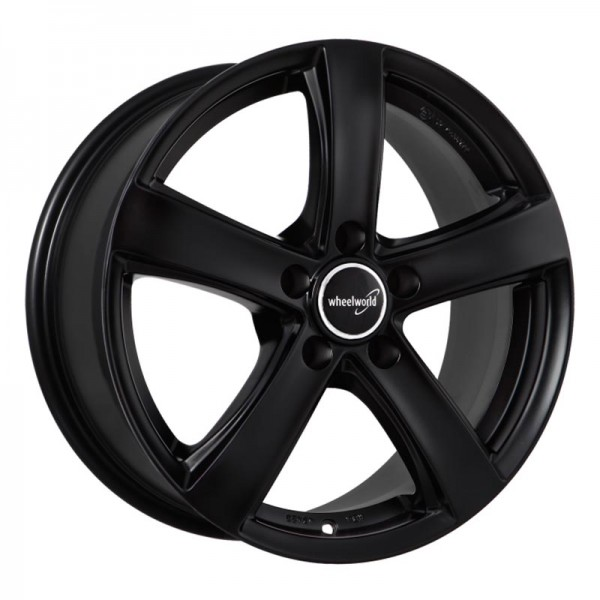 WHEELWORLD WH24 BLACK MATT 5X115 ET41 HB70.2