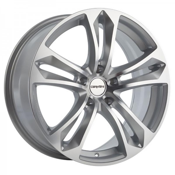 CARMANI 5 ARROW KRISTALL SILVER 5X120 ET42 HB72.6