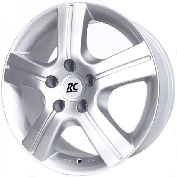 RC DESIGN DELTA KRISTALL SILVER 5X100 ET38 HB63.4 X5