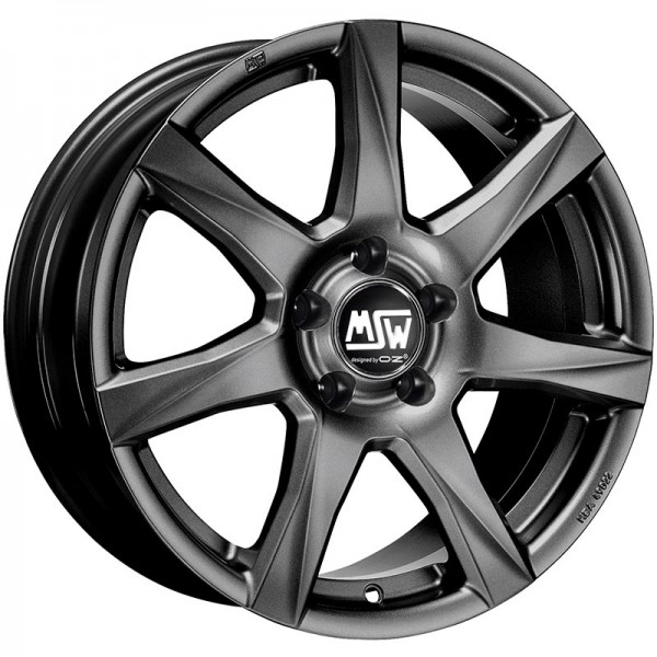 MSW 77 GREY MATT DARK 5X100 ET38 HB57.06