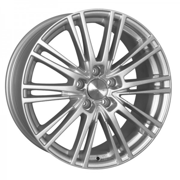 WHEELWORLD WH18 RACE SILVER PAINTED 5X112 ET45 HB66.6